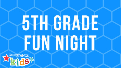 5th Grade Fun Night