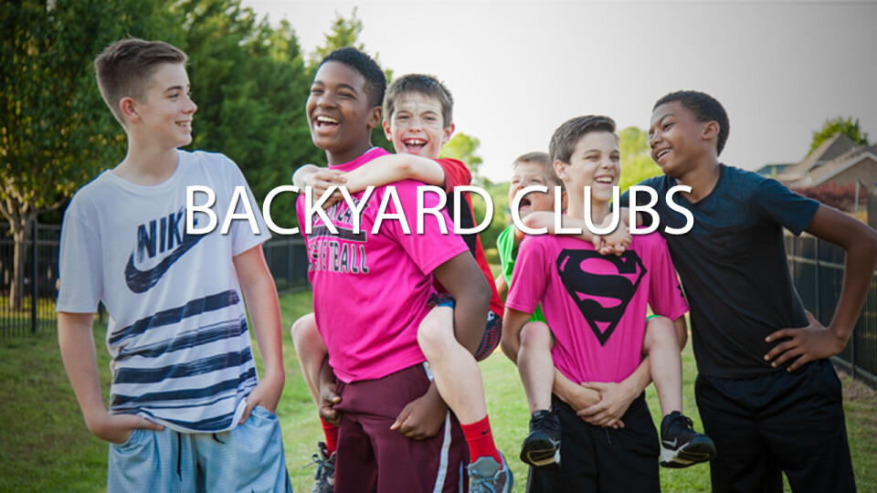Backyard Club Host Registration