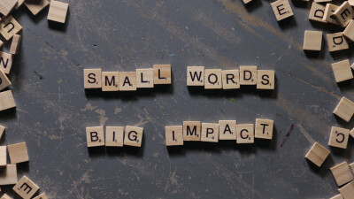 Small Words. Big Impact. - I Love You