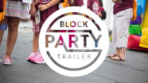 FAQ Block Party Trailer
